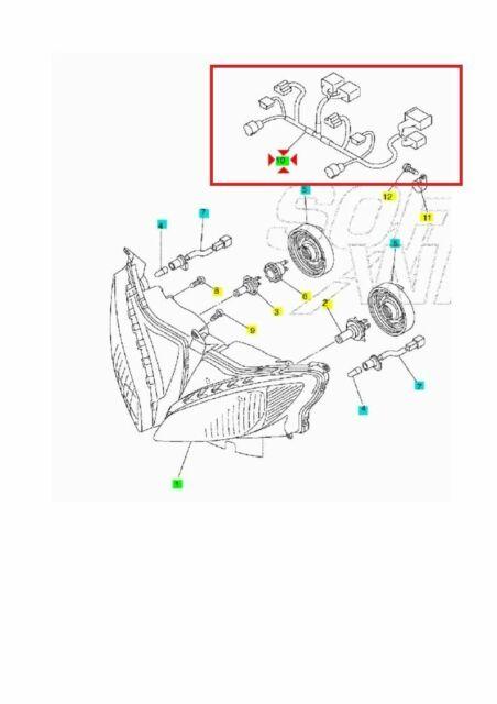 Wiring Lights Yamaha FZ6 Mod Fazer 2004 2005 2006 04 05 06