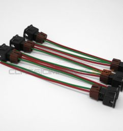 fuel injector wiring harness connectors for nissan 300zx z31 1984 1987 n a turbo [ 1600 x 1200 Pixel ]