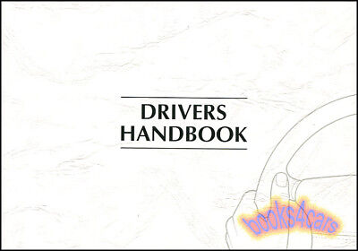 1999 JAGUAR XJ8 XJR OWNERS MANUAL HANDBOOK GUIDE BOOK 99