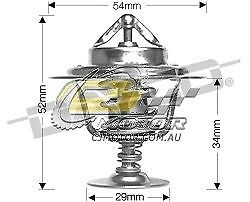 DAYCO Thermostat FOR Ford Falcon 4/92-8/93 4.0L 12V OHC