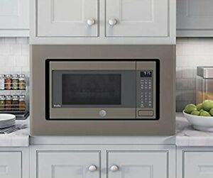details about ge stainless steel 30 built in microwave oven trim kit jx9153ejes