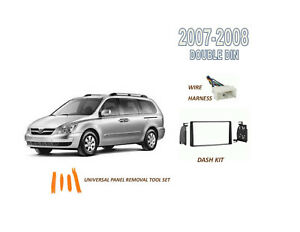 NEW Stereo Double DIN Dash Kit for 2007-2008 HYUNDAI