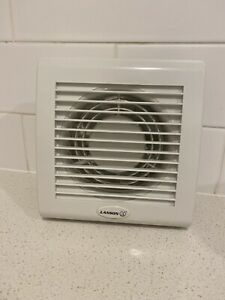 details about lanson lanewf5 window wall exhaust fan with 125mm fix grille