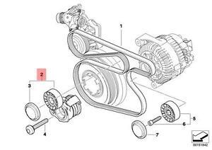 Genuine BMW E87 E90 E90N E91 E91N Mechanical Belt