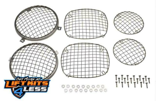 Kentrol 30465 Wire Mesh Guard Set 6 Pieces for 1976-1983