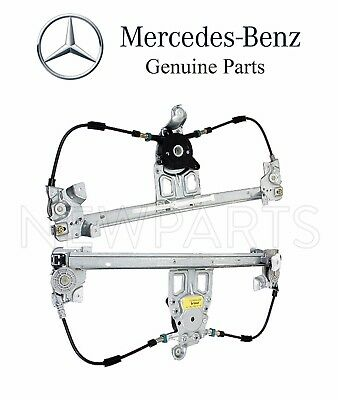 For Mercedes W140 Set of Two Rear Window Regulators w/o