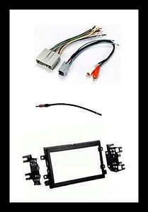 Double Din Car Stereo Radio Dash Kit Wire Combo for some
