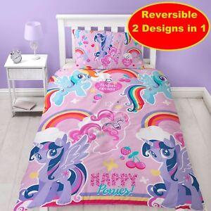 details zu my little pony zerdrucken einzel bettbezug set madchen schlafzimmer geschenk