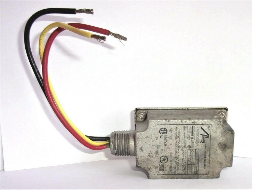 medium resolution of area lighting research photocontrol at 168 sensor 208 277 vac at168 for sale online ebay