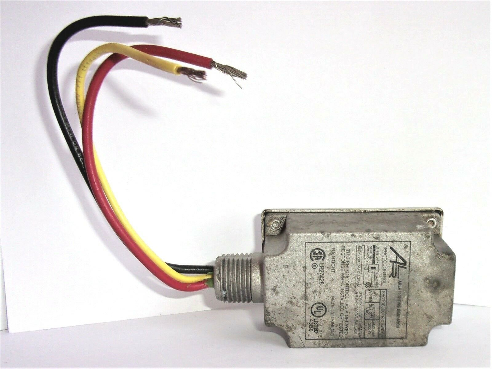 hight resolution of area lighting research photocontrol at 168 sensor 208 277 vac at168 for sale online ebay