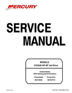 Sea-Doo 1999 M2 210 240 HP Engine Shop Repair Manual 90