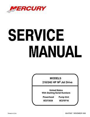 Sea-Doo 1999 M2 210 240 HP Engine Shop Repair Manual 90