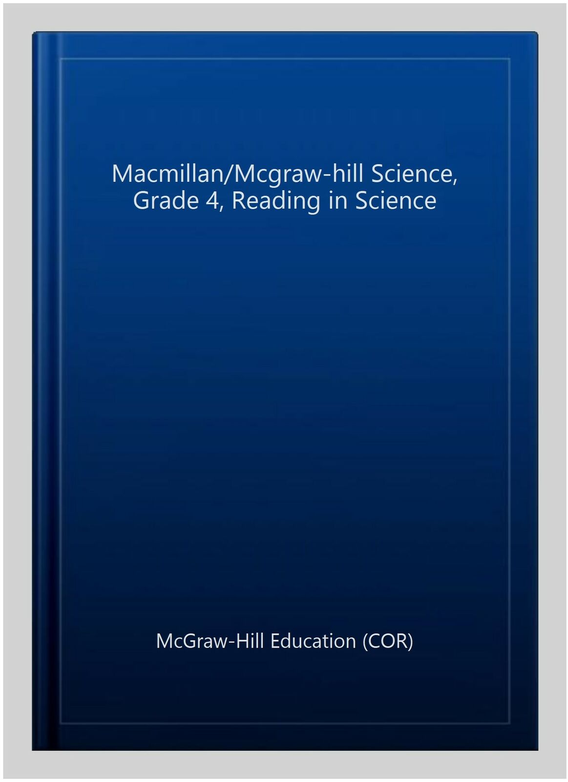 hight resolution of Older Elementary Science Ser.: Macmillan/McGraw-Hill Science