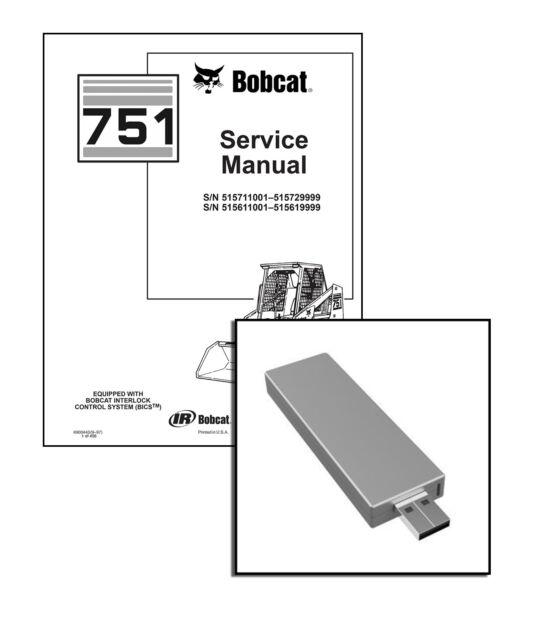 Bobcat 751 Skid Steer Loader Workshop Service Repair