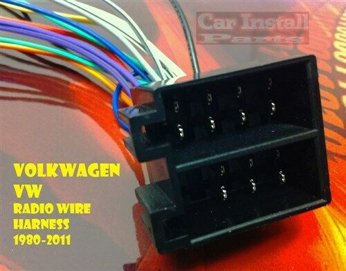 Vw Radio Wire Harness Install Stereo Plug