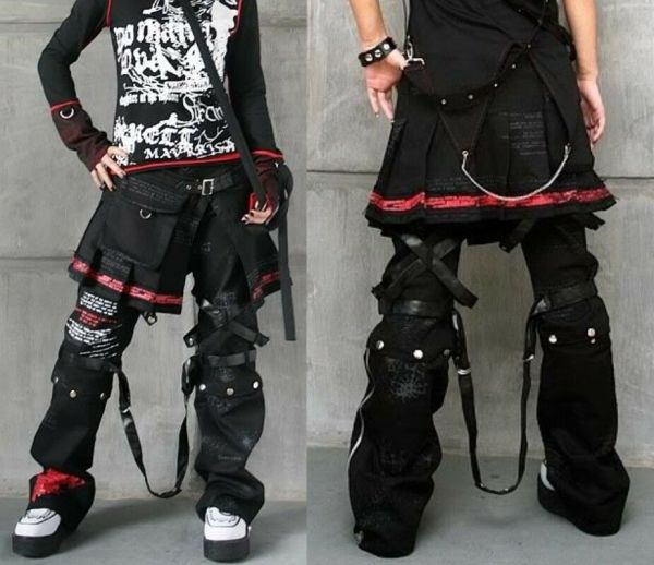 Kera Visual Kei Punk Gothic Pants Skirt Emo Nana Sz