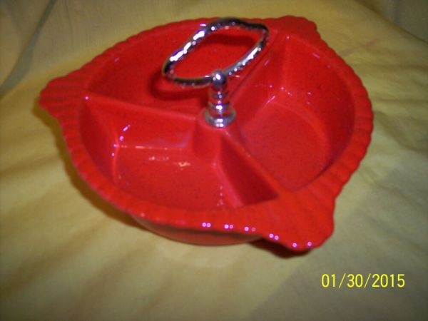 1 CENTER PIECE FOR A VINTAGE CALIFORNIA POTTERY USA L65