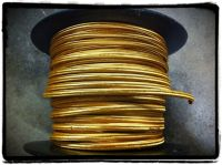 Gold Parallel Rayon Covered Wire, Antique Style Cloth Lamp ...