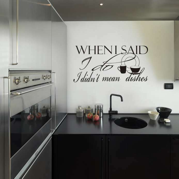 Kitchen Cabinet Decals