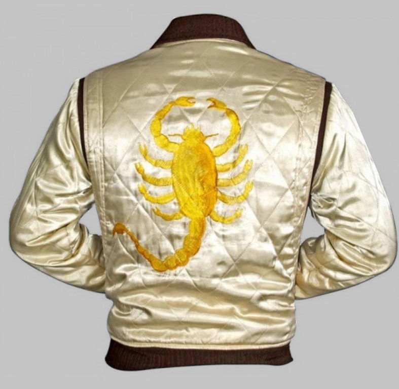 Drive Scorpion Satin Fitted Ryan Gosling Movie Jacket  eBay