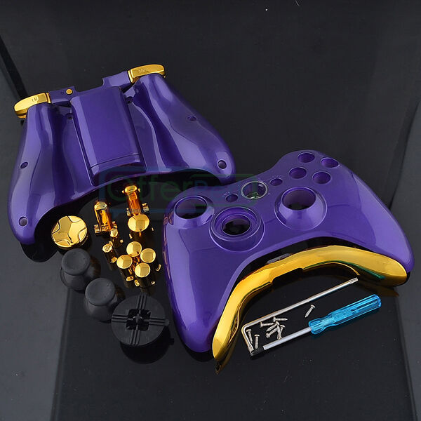 Hot Xbox 360 Wireless Controller Shell Button Glossy