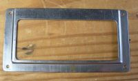 Metal File Drawer Label Holder Office/Library/Post Office