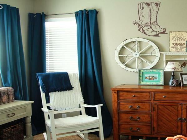 Cowboy Boots vinyl wall art decal sticker boy girl bedroom