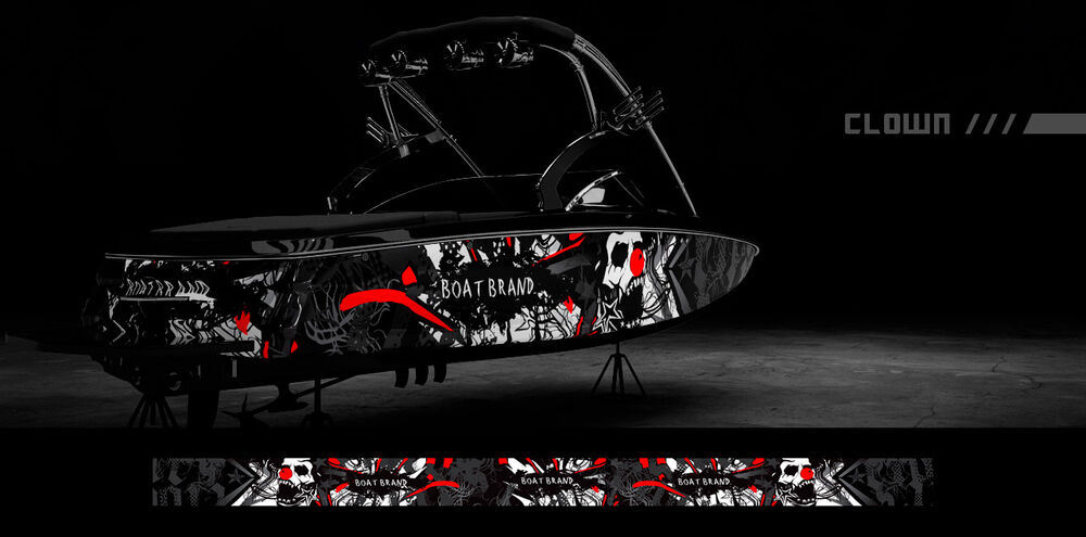 BOAT WRAPS GRAPHICS DECALS KIT WRAP Boat Graphic Kits DESIGNS FREE SHIPPING  eBay