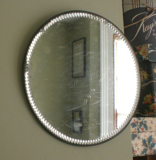 Round Mirror Wall Hanging