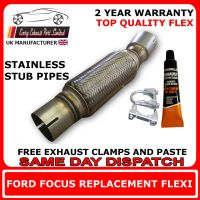 ford focus exhaust flexi flex cat repair pipe 1.8tdi tdci
