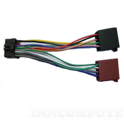 Pioneer Car Radio 10 Pin Iso Wiring Harness Connector Adapter Ebay