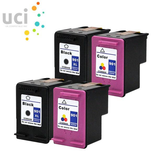 4 -oem Ink Cartridge 901 Officejet J4550 J4580