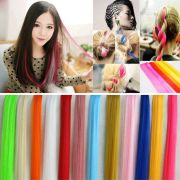 multi color women long straight