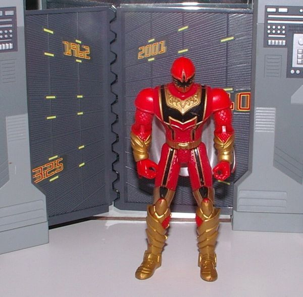 Power Rangers Mystic Force Super Legends Red Ranger Figure
