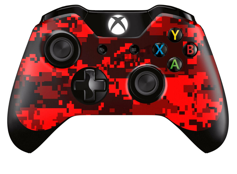 Xbox One ControllerGamepad Skin Cover Wrap Red