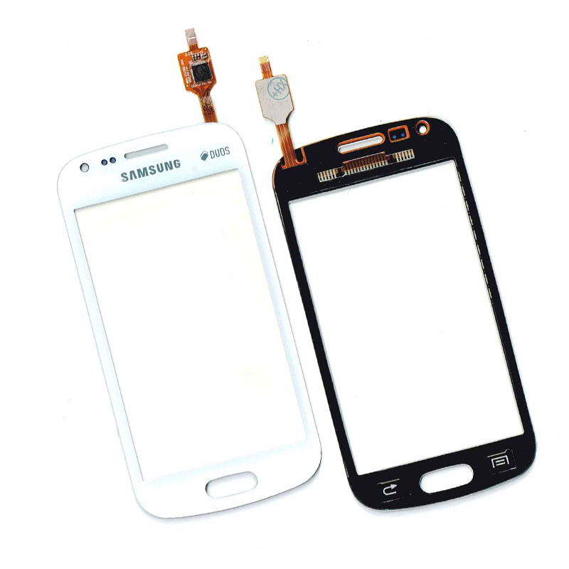 TOUCH SCREEN DISPLAY VETRO BIANCO SAMSUNG GALAXY GT S7560