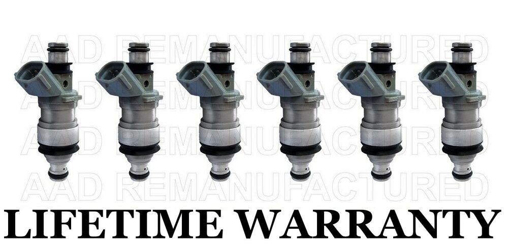 10 YEAR WARRANTY Set Of 6 Fuel Injectors for 4Runner Camry