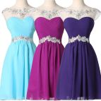 Cheap Womens Short Graduation Bridesmaid Formal Prom Party