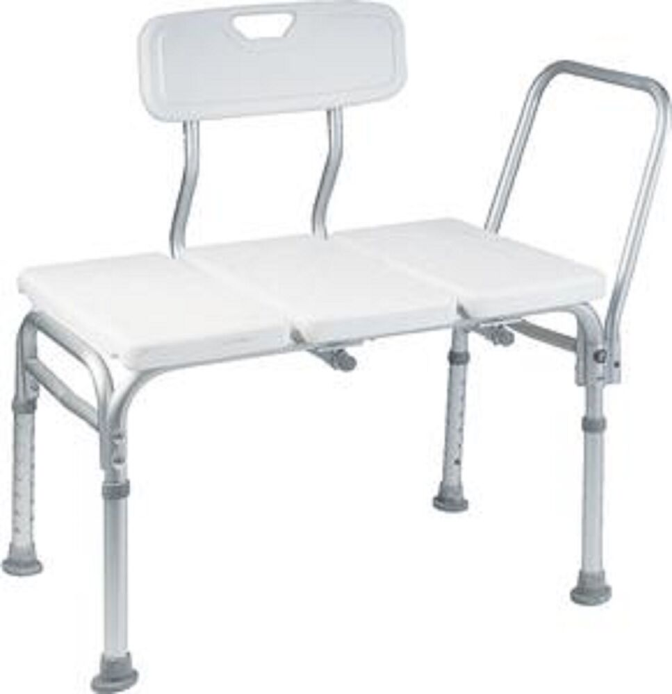Heavy Duty Wheelchair To Bath Tub Shower Transfer Bench