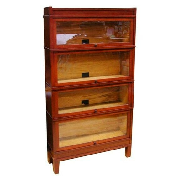 Early 20th C Sectional Bookcase Or Curio Cabinet With