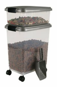 New Airtight Pet Food Storage Combo Dog Treat Container ...