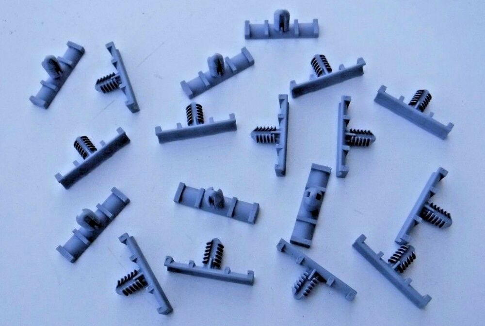 Pcs Nylon Fasteners Wiring Harness Retainers Clips 9mm X 37mm For A
