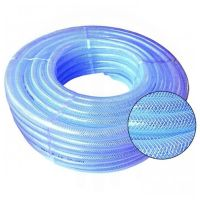PVC HOSE Clear Flexible Reinforced Braided - Food Grade ...