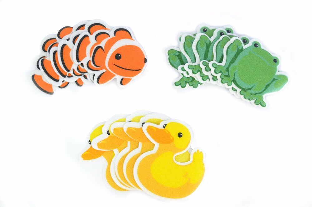 Bath Tub Shower Stickers COMBO Pack Nemo Decals Treads