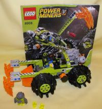 LEGO POWER MINERS CLAW DIGGER 8959 | eBay