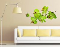 Orchid Branch Wall Decal, Floral Decals, sticker, mural | eBay