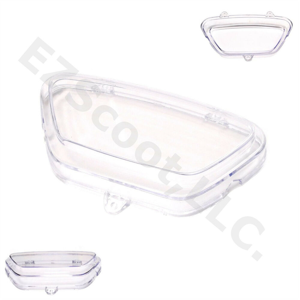 SPEEDOMETER GAUGE TRANSPARENT PLASTIC COVER 50CC GY6