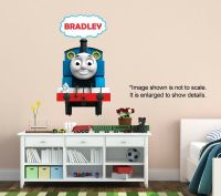 Personalized Thomas the Train Wall Decal (Removable and ...