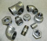 "GALVANISED MALLEABLE IRON PIPE FITTINGS BSP 1/8"" To 4"