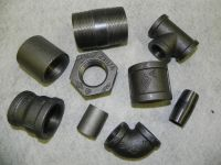 BLACK MALLEABLE IRON PIPE FITTINGS BSP 1/8""